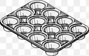 Tin Pan - Muffin Tin Cupcake Clip Art PNG