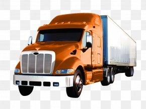 Truck - Car Semi-trailer Truck Peterbilt Truck Driver PNG