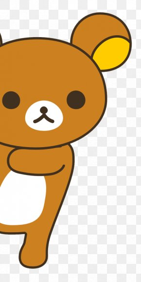 Rilakkuma San X Bear Hello Kitty Kawaii Png 1220x500px
