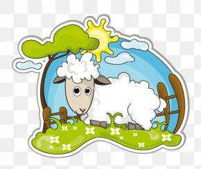 Sheep - Sheep Drawing Goat Clip Art PNG