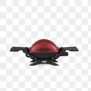 Red Gas Grill - Barbecue Weber Q 1200 Weber-Stephen Products Weber Q 1000 Weber Q Cart PNG