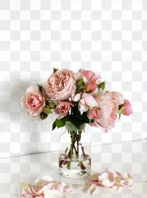 Flower - Flower Bouquet Vase Rose Glass PNG