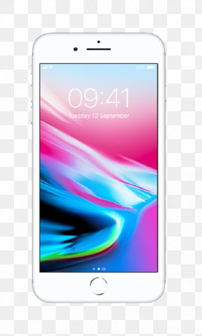 Apple 8plus - IPhone X IPhone 7 Apple IPhone 8 Plus (64GB, Silver) IOS PNG