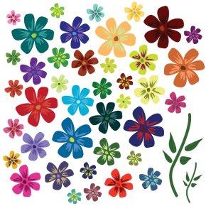 Flower Vectors - Flower Euclidean Vector Clip Art PNG