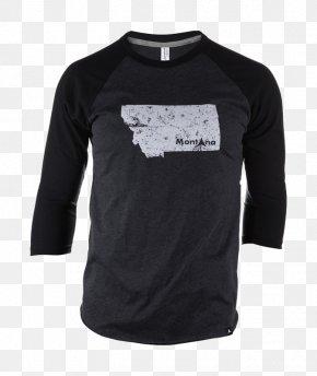 T-shirt - Long-sleeved T-shirt Long-sleeved T-shirt Black M PNG