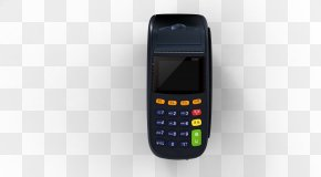Pos Credit Card Machine - Feature Phone Mobile Phone Cellular Network PNG