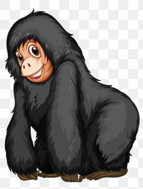 Hairy Gorilla - Western Gorilla Stock Photography Clip Art PNG
