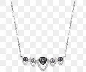 Swarovski Crystal Necklace Jewelry Women's Black - Earring Necklace Swarovski Jewellery Pearl PNG