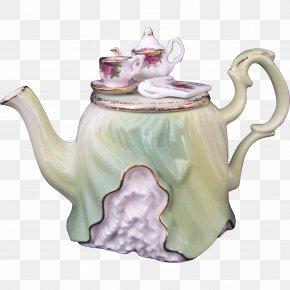 Tea Time - Teapot Porcelain Tableware Ceramic Kettle PNG
