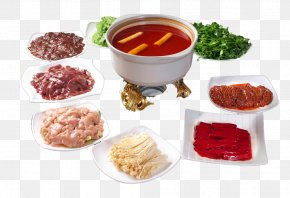 Winter To Eat Hot Pot - Hot Pot Dish Meat Eating Lamb And Mutton PNG