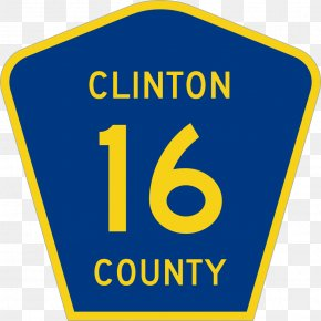 Clinton Administration - Traffic Sign United States Of America US County Highway Highway Shield Road PNG