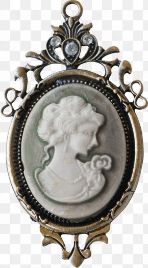 Jewelry - Locket Antique PNG