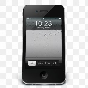 IPhone Black IOS - Smartphone Electronic Device Gadget Multimedia PNG