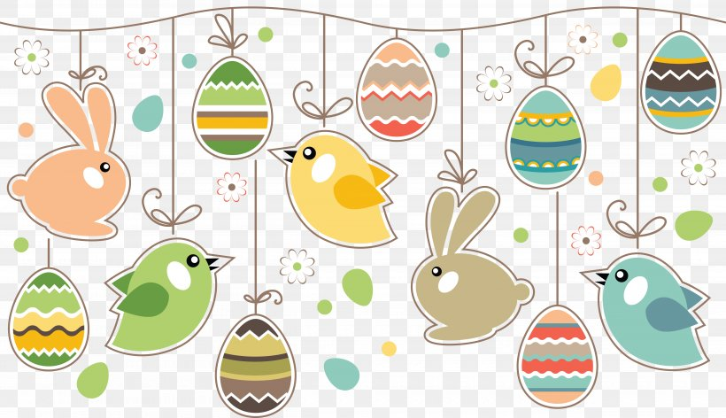 Easter Bunny Easter Postcard Greeting & Note Cards Easter Egg, PNG, 5000x2882px, Easter Bunny, Area, Artwork, Easter, Easter Egg Download Free