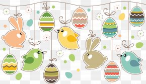 Easter - Easter Bunny Easter Postcard Greeting & Note Cards Easter Egg PNG