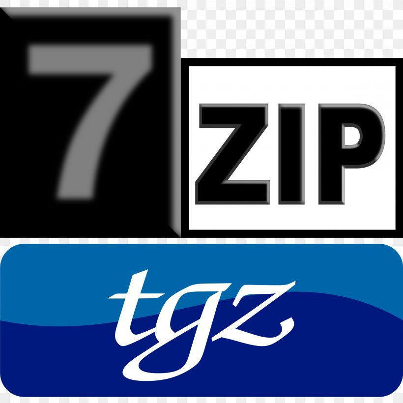 Logo File Archiver Brand 7-Zip Computer File, PNG, 2400x2400px, Logo, Archive File, Area, Brand, File Archiver Download Free