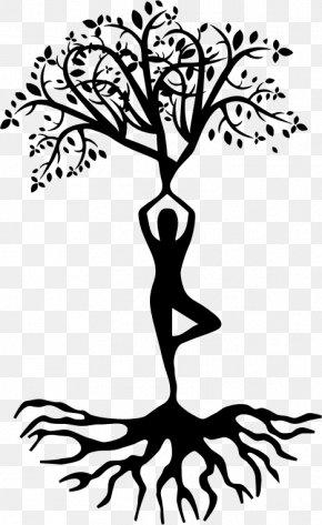 Blackandwhite Root - Tree Root PNG