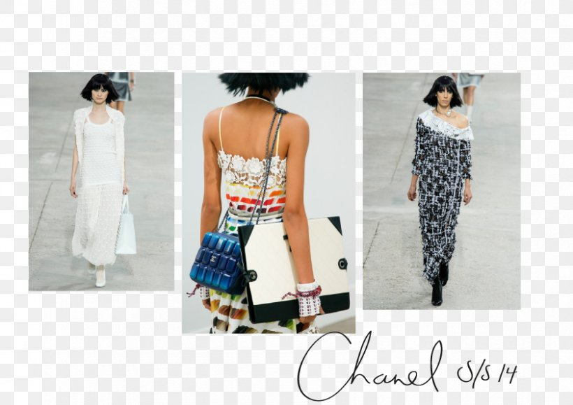 Chanel Fashion Spring Summer Art, PNG, 842x595px, 2014, Chanel, Art, Clothing, Dress Download Free