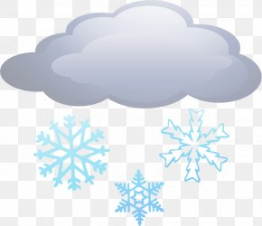Clouds Snow Material Free To Pull - Snow Weather Cloud Winter PNG