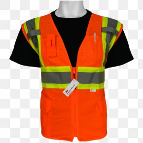T-shirt - T-shirt High-visibility Clothing Gilets Waistcoat Glove PNG