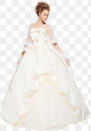 Wedding Dress - Wedding Dress Bride Wedding Invitation PNG