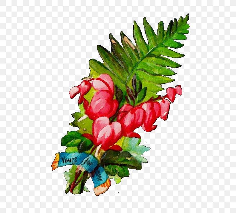 Flower Leaf Plant Tree Branch, PNG, 599x738px, Watercolor, Anthurium, Branch, Flower, Leaf Download Free