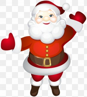 Santa Claus Cute Transparent Clip Art - Santa Claus Father Christmas Clip Art PNG
