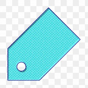 Rectangle Electric Blue - Discount Icon Price Icon Promotion Icon PNG