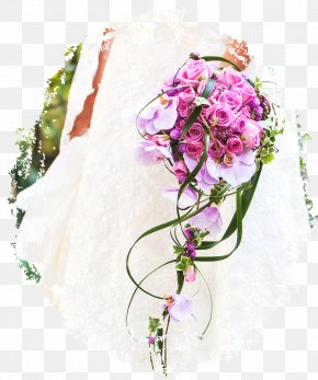 Flower - Flower Bouquet Bride Wedding Cut Flowers PNG