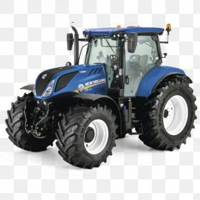 Tractor - John Deere New Holland Agriculture Tractor Agricultural Machinery PNG