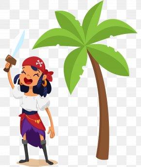 Cartoon Pirate - Piracy Image Design Illustration PNG