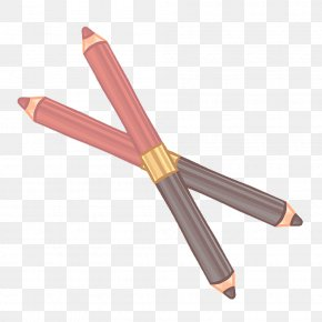 Hand-painted Headed Eyebrow Pencil Vector Material - Eyebrow Make-up PNG