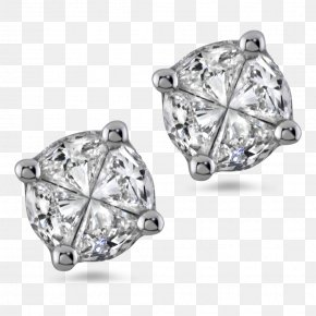 Jewellery - Earring Jewellery Diamond Cut Brilliant PNG