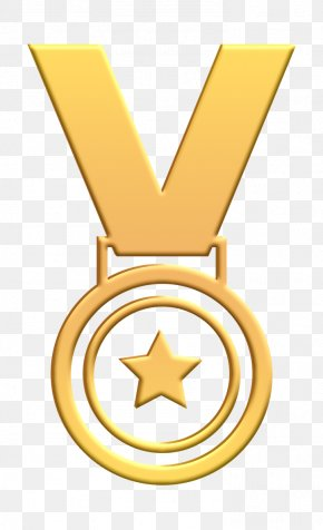 Symbol Gold Medal - Award Icon Gold Icon Medal Icon PNG