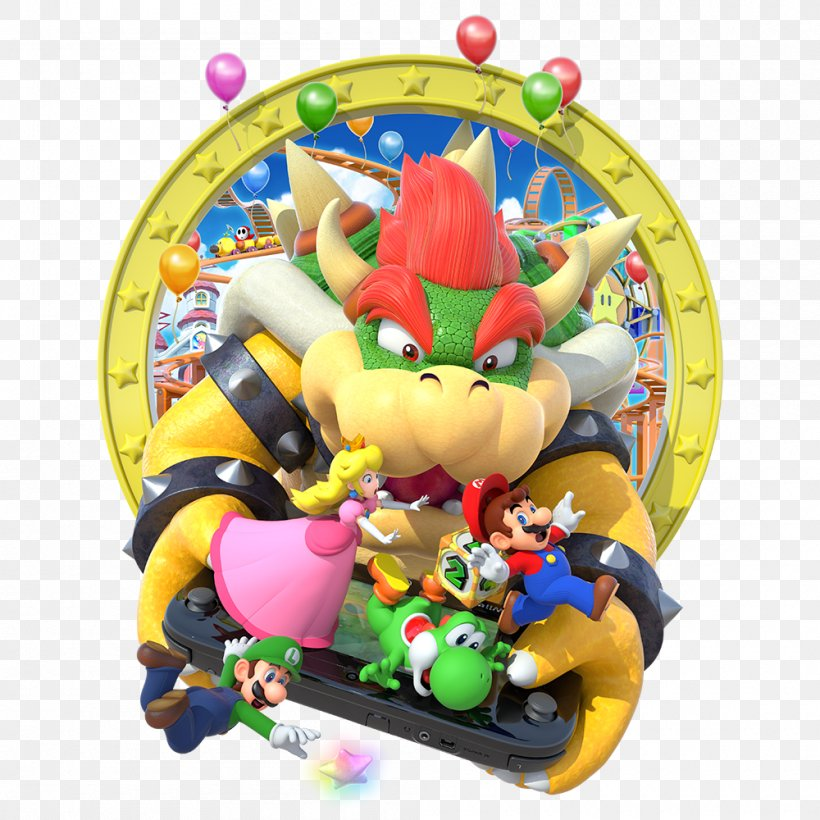 Mario Party 10 Wii U Mario Party Star Rush Bowser Png