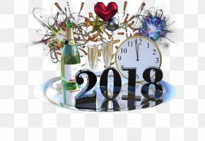 Happy New Year - New Year's Day New Year's Eve Party Holiday PNG