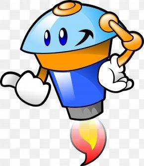Cartoon Rocket - Robotic Vacuum Cleaner Test Method Chatbot PNG