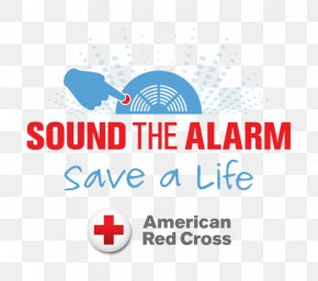 Cross On A Red Circle - United States American Red Cross Alarm Device Volunteering Fire Department PNG