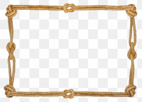 Rope Border - Rope Picture Frame Molding Hemp PNG