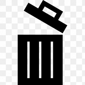 Trash Can Icon - Rubbish Bins & Waste Paper Baskets Recycling Bin PNG
