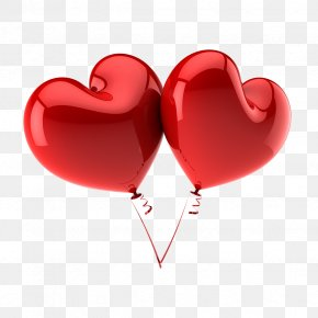 Red Heart - Balloon Stock Photography Heart Valentine's Day Clip Art PNG