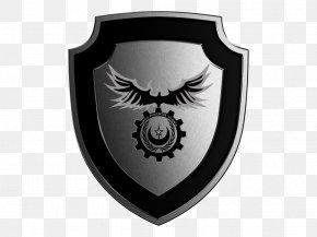 Black Shield - Shield Badge Police PNG