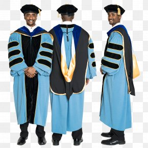 Fly Doctoral Cap - University Of Michigan Robe Graduation Ceremony Doctor Of Philosophy Academic Dress PNG