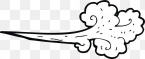 Hand-painted Wind Effect - Cartoon Wind Royalty-free Clip Art PNG