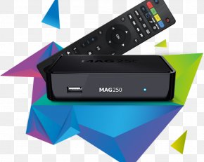 Android Tv BOX - Set-top Box IPTV Over-the-top Media Services Digital Media Player Mag 254 PNG
