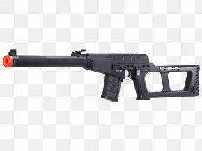 Weapon - Airsoft Guns VSS Vintorez Trigger Weapon PNG