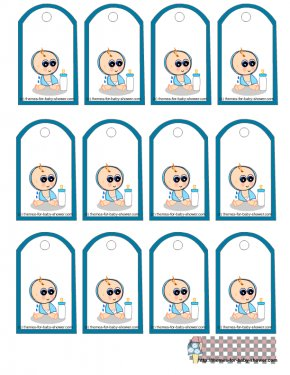 Free Baby Shower Borders - Baby Shower Wedding Invitation Gift Party Clip Art PNG