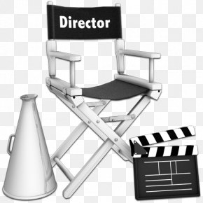 Movies - Film Director Cinematographer Clapperboard PNG