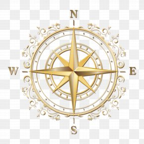 Compass Compass - Points Of The Compass Navigation PNG