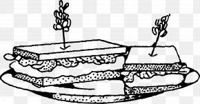 Sandwich Clipart - Submarine Sandwich Tuna Fish Sandwich Ham And Cheese Sandwich Clip Art PNG